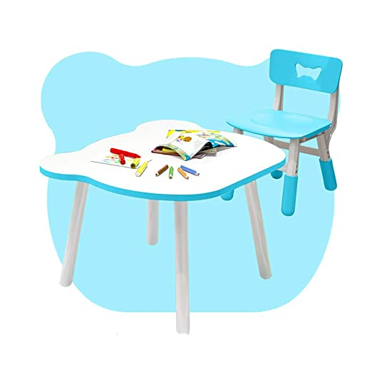 Mesa HUO Juego Silla para niños en el hogar Bebé Escritura Pintura ...