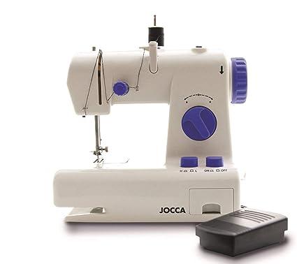 Jocca Maquina de Coser, Blanco y Azul, 21.7x12x20.5 cm