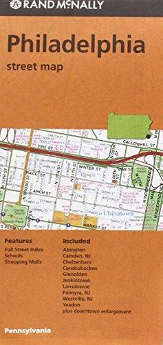 Rand McNally Philadelphia, Pennsylvania Street Map