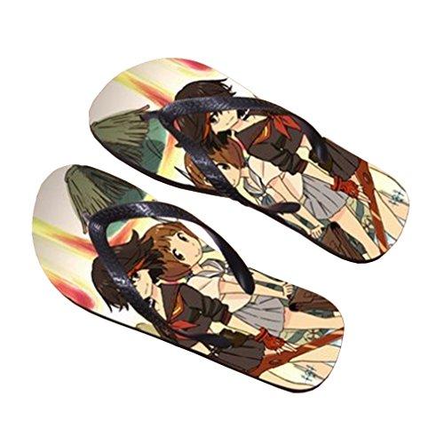 Bromeo KILL la KILL Anime Unisex Flip Flops Chanclas 569