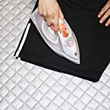 Kangkang@ 48 x 85cm Pure Cotton New Ironing board Folding Ironing Pads Mat de passar roupa cover Heat-resistant Board Mat Pad Blanket