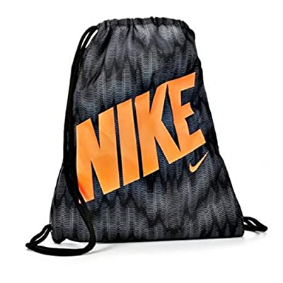 d2c9f671f8fd Nike Young Athlete Drawstring Gymsack Backpack Sport Bookbag (Wolf ...