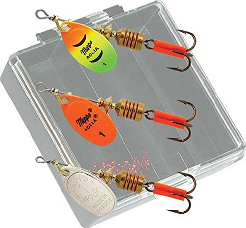 Mepps Aglia Plain Trout Fishing Lure Pocket Pack