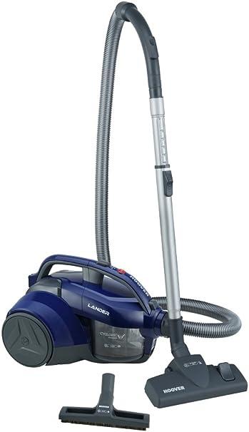 Hoover Lander LA20 Bolsa, Aspirador ciclónico, Cepillo parquet, Suelos Duros y alfombras, Accesorios Integrados, 700 W, 1.2 litros, 78 Decibelios, Polycarbonate, Azul: Hoover: Amazon.es: Hogar