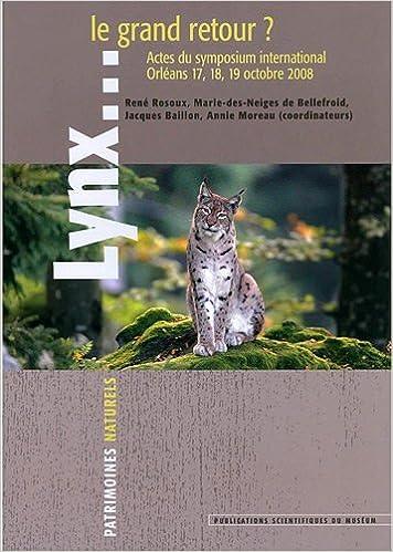 Livres gratuits Lynx...le grand retour ? pdf ebook