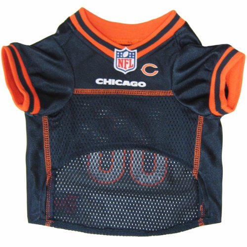 NFL CHICAGO BEARS DOG Jersey, - Satin Bears Chicago
