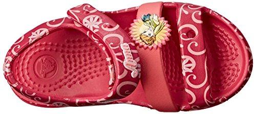 Rosso Bambina Crocs raspberry Keelyfroznfsndk Sandali wgqqTtpaz