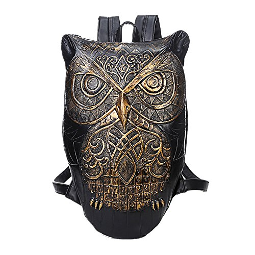 Owl Bag 3d Single Gold Messenger Shoulder Animals xCIqgPS