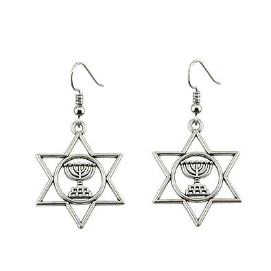 Amazon com: WYSIWYG 3 Pairs Drop Earrings Jewelry Earrings