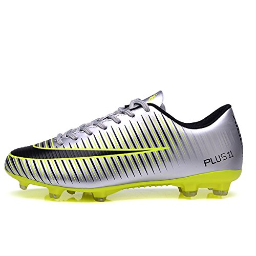 Turf Running Men Kids BADIER Athletic Indoor Team Shoes Shoes Cleat Silver Mundial Football Outdoor Soccer Boots Sports xASAO