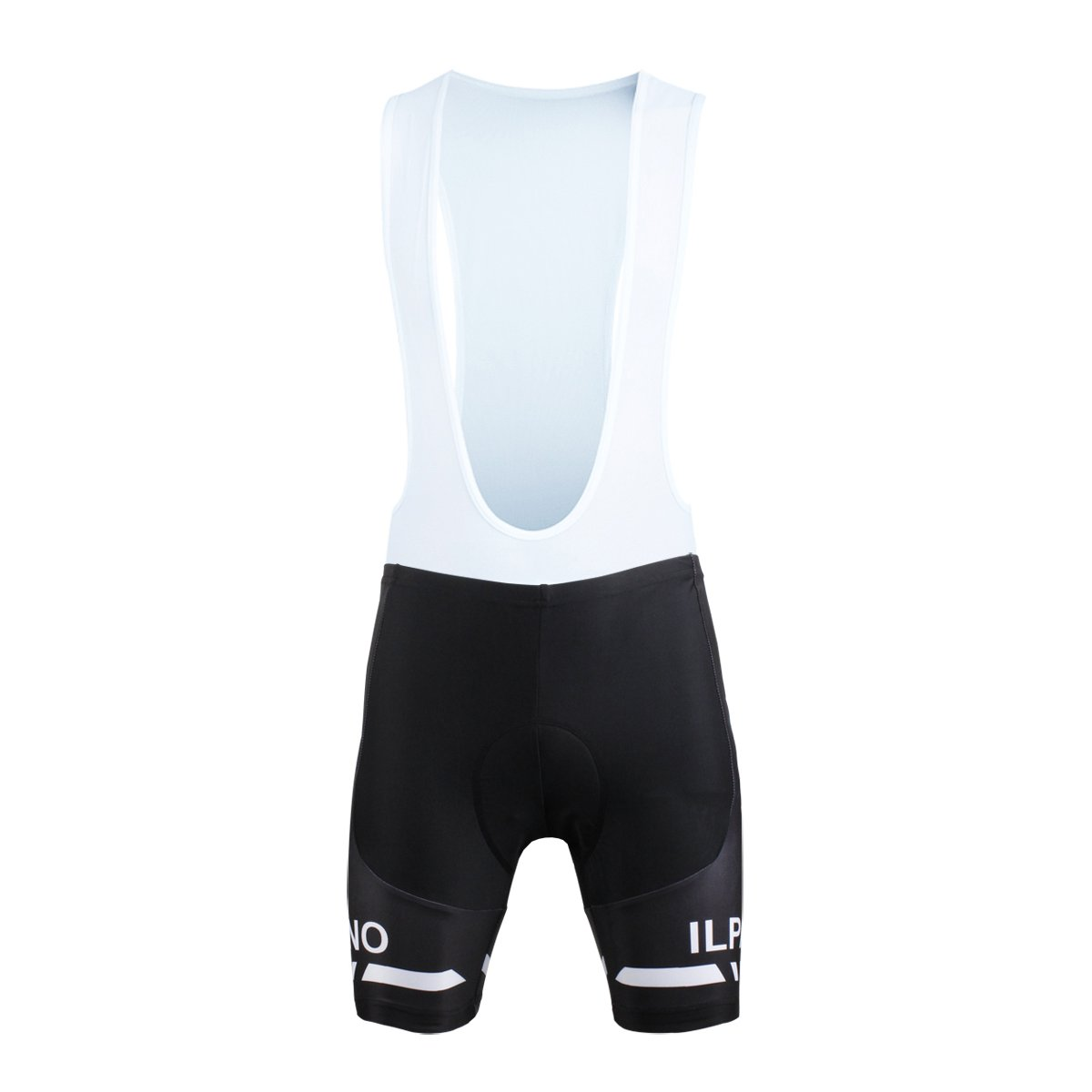 Paladin Men's Cycling Bib Shorts With Inner Padded Wholfhead Pattern Bike Jersey