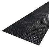 Notrax - 979S0035BLRS - Antifatigue Mat, 3 ft. x 5 ft, Black, Vinyl