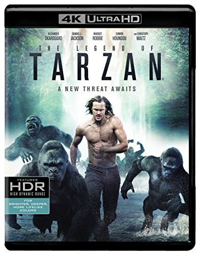 4K Blu-ray : The Legend of Tarzan (4K Mastering, Ultraviolet Digital Copy, 2 Pack, 2 Disc)