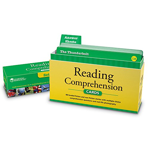 Learning Resources Reading Comprehension Card Set 3