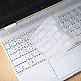 Folox Clear TPU Keyboard Protector Cover Skin for HP Spectre x360 Only for 13-w020tu Notebook PC