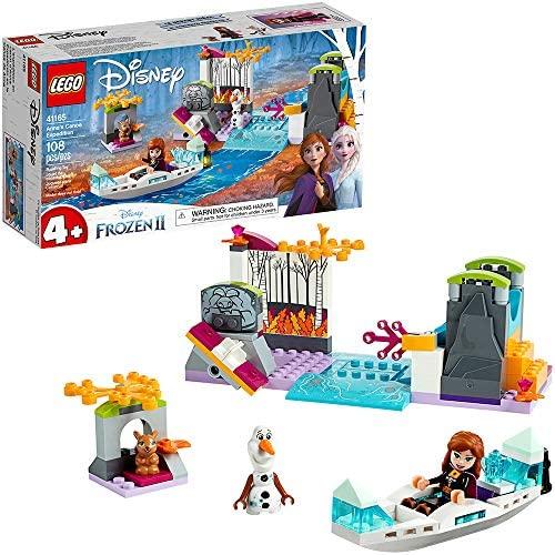 LEGO Disney Frozen II Anna\u2019s Canoe Expedition 41165 Frozen Adventure Easy Building Kit (108 Pieces)