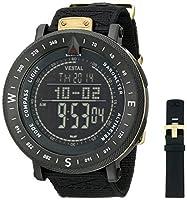 "Vestal Men's GDEDP01 ""The Guide"" Stainless Steel Digital Watch by Vestal"