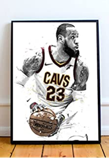 ecfdc0af15d Lebron James Limited Poster Artwork - Professional Wall Art Merchandise  (More Sizes Available) (