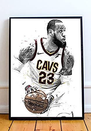 sale retailer ddeff 76b7b Lebron James Limited Poster Artwork - Professional Wall Art Merchandise  (More Sizes Available) (8x10)