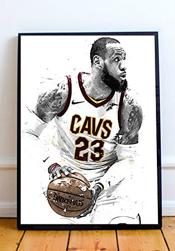 3173ff81fa4aa Lebron James Limited Poster Artwork - Professional Wall Art Merchandise  (More Sizes Available) (8x10)