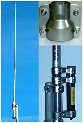Antena vertical cobertura permanente, 1, 8-30 MHz, altura: 10 ...