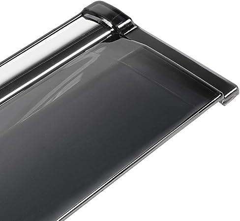 Aramox Car Window Visor Vent,4Pcs Car Modification Window Visor Vent Sun Shade Rain Guard Fit for JEEP Compass 2017-2019