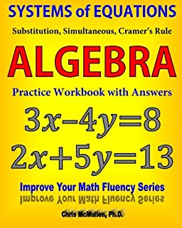 Algebra Essentials Practice Workbook with Answers: Linear