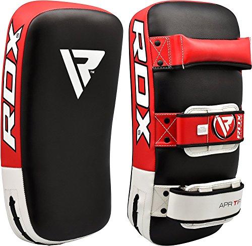 RDX MMA Strike Shield Curved Training Thai Pad Kick Focus Target Boxing Punching (SINGLE ITEM) Single Focus Target