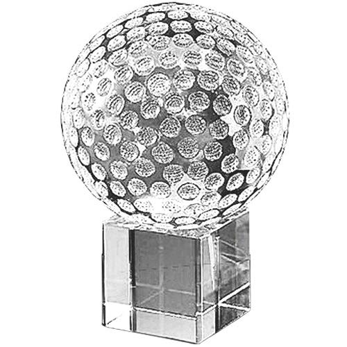 Amlong Crystal - Crystal Golf Ball with Crystal Stand