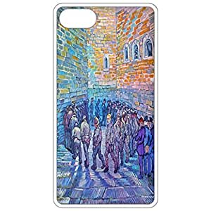 Prisoners Walking The Round_Lg By Van Gogh Painting By Vincent Van Gogh White Apple Iphone 6 (4.7 Inch) Cell Phone Case - Cover