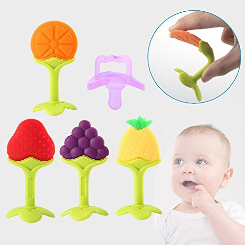 niceEshop Toddler Teething Pacifier Natural product image