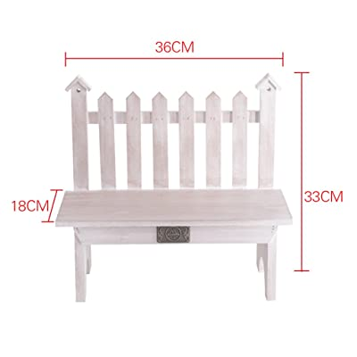 Yxx max -Home Decoration Flower Stand Solid Wood Flower Stand Office Desk Shelf Bay Window Rack Fence Display Stand (Color : D) : Garden & Outdoor