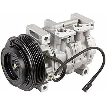 AC Compressor & A/C Clutch For Suzuki Aerio 2002 2003 2004 2005 2006 2007 - BuyAutoParts 60-01630NA NEW