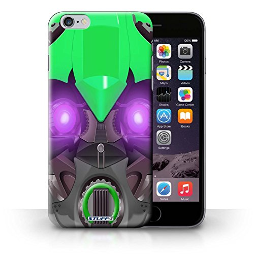 Hülle Case für iPhone 6+/Plus 5.5 / Bumble-Bot Grün Entwurf / Roboter Collection