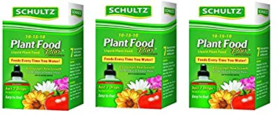 Schultz All Purpose 10 15 10 Plant Food Plus, 4 Ounce
