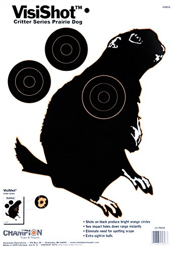 Champion Dog Target - Champion VisiShot Critter Series Prairie Dog Targets (50 Pack)