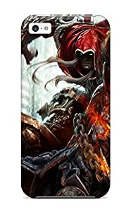 High Grade Heatffey Flexible Tpu Case For Iphone 5c - Darksiders Video Game Other
