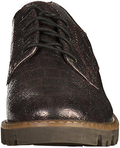 Tamaris 1-23307-27 Zapatillas con cordones para mujer Platinum