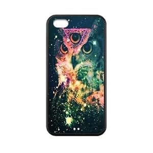 Custom Hipster Owl Back Cover Case for iphone 5C JN5C-340