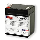 ADT Security Safewatch Pro 3000 12V 5Ah Replacement Battery