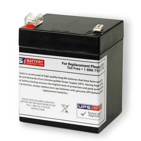 (ADT Security Safewatch Pro 3000 12V 5Ah Replacement Battery)