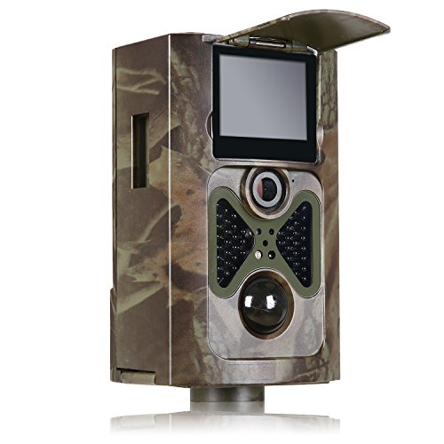 ANNKE Trail Camera, 12MP 1080P HD 48 Pcs Invisible IR LEDs Infrared PIR Night Vision Outdoor IP54 Waterproof Wildlife Stealth Trail Hunting Game Camera Scouting Portable Spy Security Camera