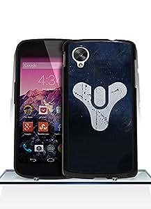 Game Destiny Logo Nexus 5 Funda Case - Ultra Thin Tough Protecive Drop Resistant Plastic Anti Slip Funda Case cover for Google Nexus 5