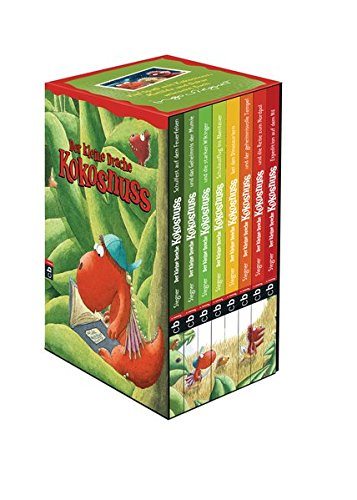 Der kleine Drache Kokosnuss - Geschenkschuber: 8 Bände im Schuber
