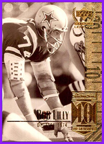 1999 Upper Deck Century Legends by UD #10 Bob Lilly HOF DALLAS COWBOYS