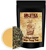 Yunnan Green Mao Fang Tea Loose Leaf (8-Ounce Bulk Bag); Chinese Spring Tea from the Home of Tea