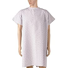 DMI 532-8030-6800 Duro-Med Convalescent Gown with Tape Ties, Print