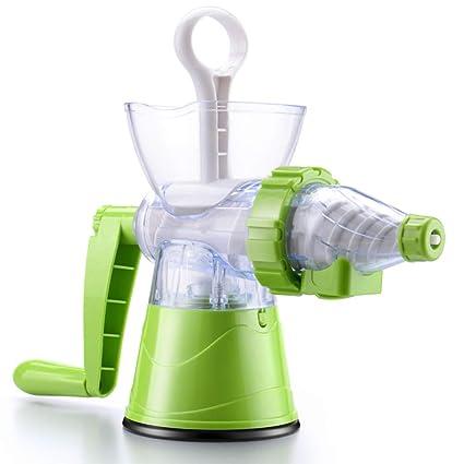 JYYC Exprimidor Manual para el hogar Mini niños Semillas de Pasto de Trigo hortalizas máquina de