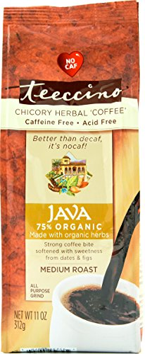 Teeccino Java Herbal Coffee, 0.83 Pound