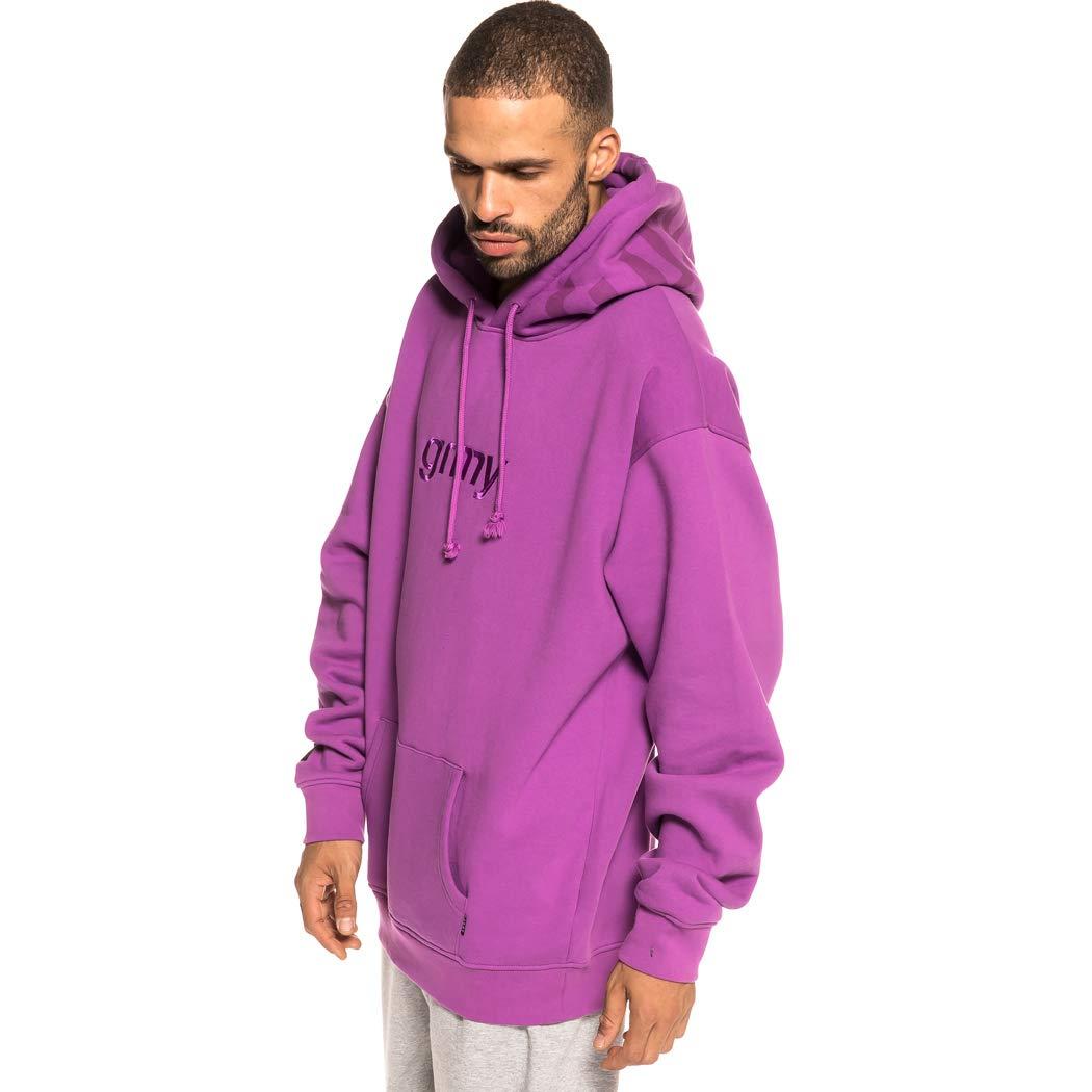 Grimey Sudadera Flamboyant Hoodie FW18 Purple-XS: Amazon.es: Ropa y accesorios
